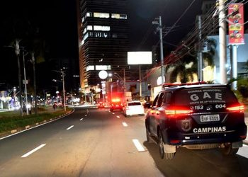 Guarda Municipal circula por Campinas para dispersar aglomerações em bares e ruas - Foto: Carlos Bassan/Prefeitura de Campinas