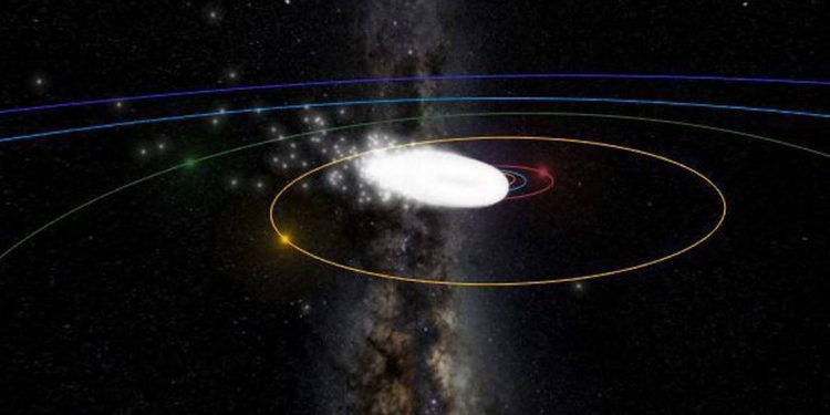 As estrelas cadentes poderão ser vistas a olho nu hoje e amanhã - Foto: Organização Meteorológica Internacional/Divulgação