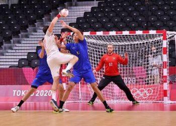 Seleção brasileira de handebol masculino acabou derrotada pela Espanha por 25 a 32 - Foto: Breno Borges/Rededoesporte.gov.br