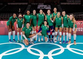 Seleção feminina de vôlei do Brasil: primeira adversária é a Coreia do Sul - Foto: Miriam Jeske/COB