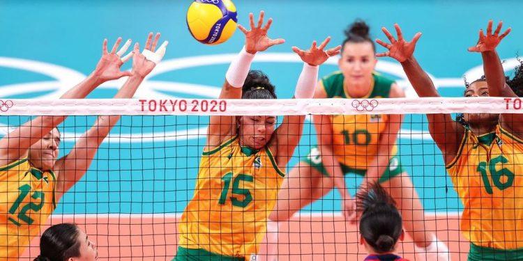 Seleção feminina de vôlei conquista terceira vitória em Tóquio - Foto: Wander Roberto/COB