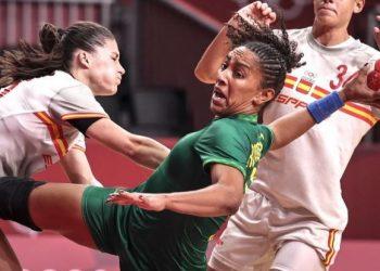 Handebol feminino do Brasil conheceu sua primeira derrota nos Jogos Olímpicos de Tóquio - Foto: Jonne Roriz/COB