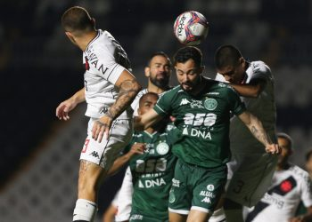Lance do jogo no Estádio de São Januário: Guarani sofre goleada do Vasco - Foto: Thomaz Marostegan/Guarani FC