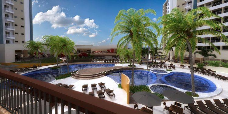 O Enjoy Solar das Águas Park Resort será inaugurado no próximo dia 12 de agosto. Foto: Divulgação