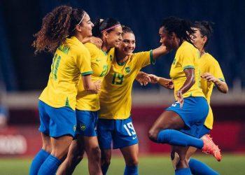 Brasileiras ganham e enfrentam Canadá na próxima etapa - Foto: Sam Robles/ CBF