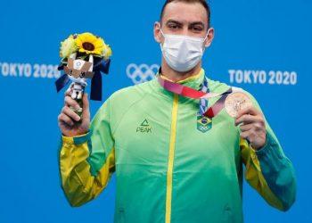Fernando Scheffer colocou a natação brasileira de volta ao pódio - Foto: Satiro Sodre/CBDA