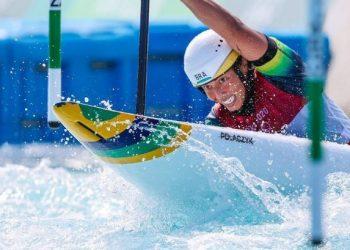 Brasileira fez história ao colocar Brasil em final inédita na categoria - Foto: Wander Roberto/COB