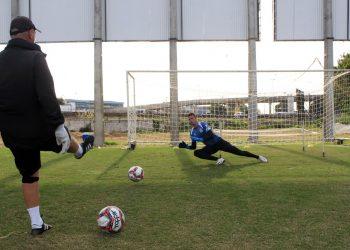 O goleiro Ivan está na expectativa de, em breve, retornar à seleção brasileira. Foto: Ponte Press/Diego Almeida