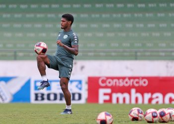 Rodrigo Andrade será titular no meio-campo do Guarani. Foto: Thomaz Marostegan/Guarani FC