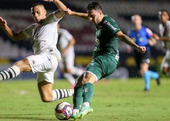 O Guarani foi derrotado por 4 a 1 pelo Vasco e deixou o G4 da Série B. Foto: Thomaz Marostegan/Guarani FC