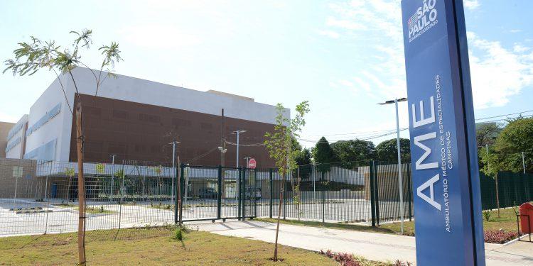 Ambulatório Médico de Especialidades (AME), em Campinas, que tratou pacientes Covid. Foto: Divulgação