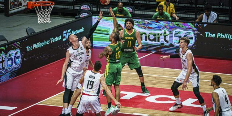 O time brasileiro chegou invisto à final contra os alemães. Foto: FIba