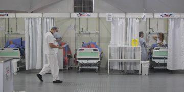 Os hospitais de campanha foram desmobilizados no estado. Foto;: Leandro Ferreira / Hora Campinas