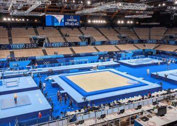 Ariake Gymnastics Centre, palco do qualificatório da ginástica artística. Foto: Divulgação