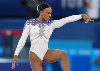 Dona de duas medalhas, Rebeca Andrade ganhará R$ 400 mil do COB. Foto: Arquivo