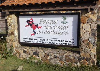 O parque do Itatiaia apresenta um relevo caracterizado por montanhas e elevações rochosas. Foto: Divulgação