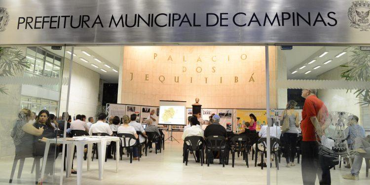 Entrada da Prefeitura de Campinas: parte do prejuízio recuperado. Foto: Divulgação PMC