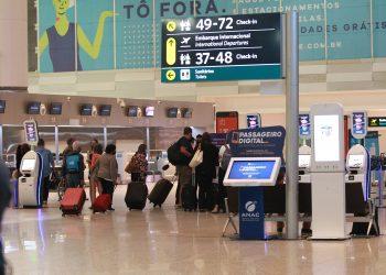 Movimento de passageiros no Aeroporto Internacional de Viracopos em Campinas  Foto: Leandro Ferreira \ Hora Campinas