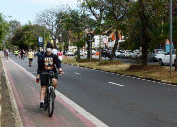 O Dia dos Pais marcou a volta do fechamento da Heitor Penteado. Foto: Eduardo Lopes/PMC