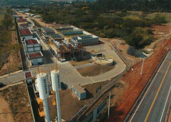 Estação Produtora de Água de Reúso (EPAR – Boa Vista), que  já está em pré-operação Foto: Marcos Lodi/Sanasa/Divulgação