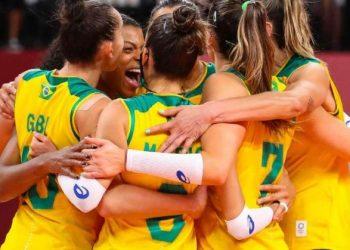 Brasileiras venceram por três sets a zero a Coreia do Sul: vôlei feminina está na final da olimpíada - Foto: Gaspar Nobrega/COB