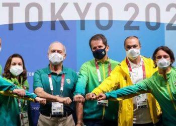 Membros do Comitê Olímpico Brasileiro (COB): preparação para Olimpíadas de Paris já começou - Foto: Wander Roberto/COB