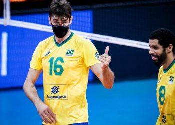 Para o experiente jogador Lucão, ciclo olímpico do vôlei masculino brasileiro tem saldo positivo e vencedor. Fotos: Divulgação