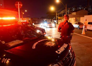 GM em ação contra a aglomeração, na região central de Campinas. Foto/ Divulgação PMC