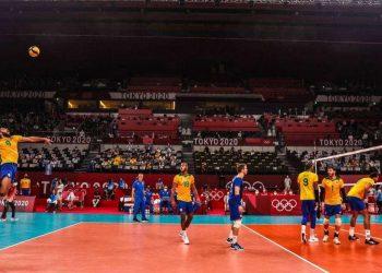 Favoritos ao bicampeonatoolímpico, os brasileiros ficaram fora do pódio em Tóquio. Foto: Jonne Roriz/COB