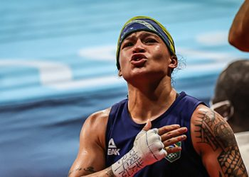 Bia ainda assegurou ao boxe nacional a melhor campanha olímpica de todos os tempos. Foto: Jonne Roriz/COB