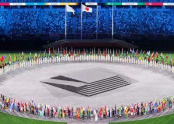 Cerimônia de encerramento dos Jogos Olímpicos de Tóquio. Foto: Divulgação