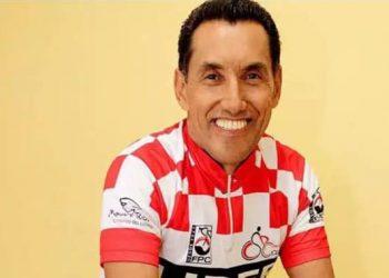 Tião era ciclista e chegou a participar de algumas competições. Foto: Reprodução