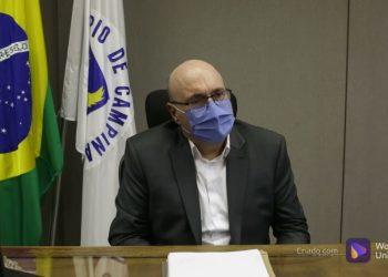 Dário Saadi teve os primeiros sintomas de Covid-19 na última sexta-feira (17). Foto: Leandro Ferreira/Hora Campinas