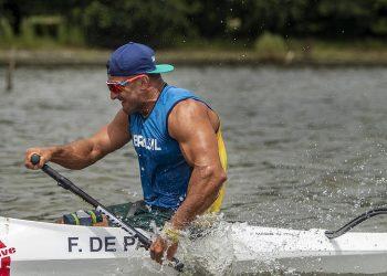 Fernando Rufino alcançou o primeiro ouro da canoagem brasileira em Paralimpíada. Foto: Foto: Ale Cabral/CPB