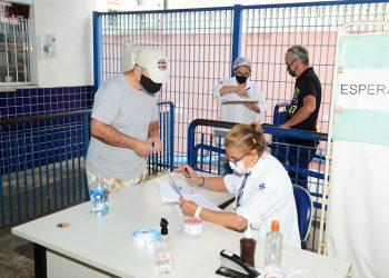 Estratégia de imunização com segunda dose envolveu 64 centros de saúde de Campinas. Foto: Eduardo Lopes/PMC