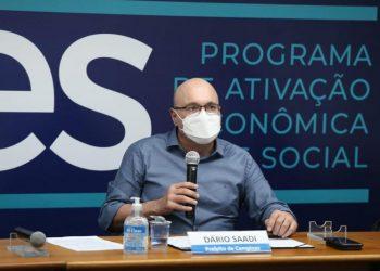 Dário Saadi foi internado com Covid na última quinta-feira, após apresentar cansaço. Foto: Divulgação