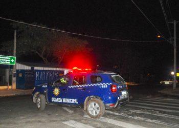 GM no local do atropelamento: motorista não prestou socorro - Foto: Wagner Souza /Divulgação