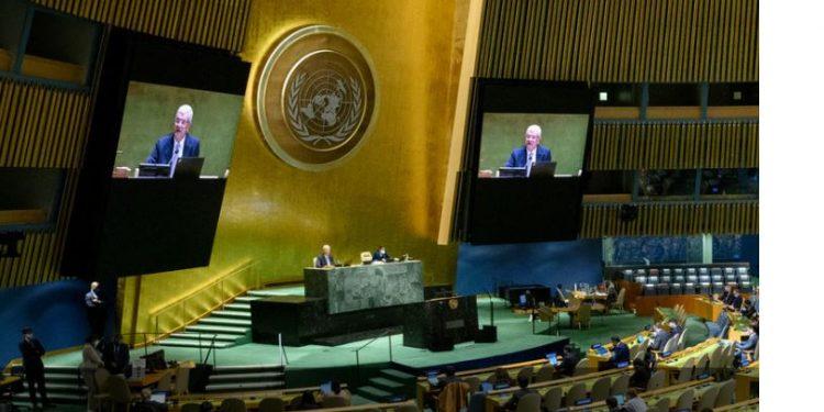 Evento precede a semana do Debate Geral da 76ª Assembleia Geral com intervenções de mais de 100 chefes de Estado e de governo - Foto: ONU/Loey Felipe