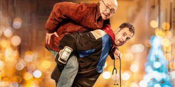 O ator e escritor Michel Blanc e o comediante e youtuber Hakim Jemili protagonizam o filme Fotos: Divulgação