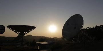 Pôr do sol na região montanhosa de Sousas, onde fica o Observatório de Campinas: reestruturação para melhor infraestrutura Foto: Leandro Ferreira/Hora Campinas