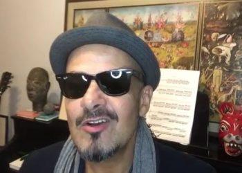 O músico Sérgio Britto, integrante do Titãs, fará show solo neste sábado na Semana Guiomar Novaes - Foto: Reprodução