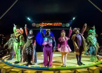 Espetáculo Lúdico, Circo dos Sonhos conta a história de uma criança que não desgrudava um só minuto do videogame. Fotos: Divulgação