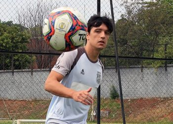Campineiro, Matheus Anjos inicia a sua segunda passagem pelo futebol da cidade, mas agora pela Ponte Preta. Fotos: Diego Almeida/Ponte Press