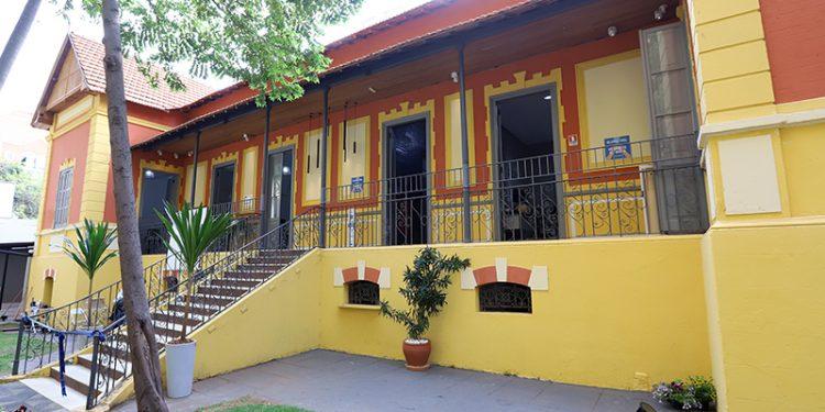 O Casarão da Barreto Leme já abrigou a primeira Escola Normal de Campinas. Foto: Fernanda Sunega/ PMC