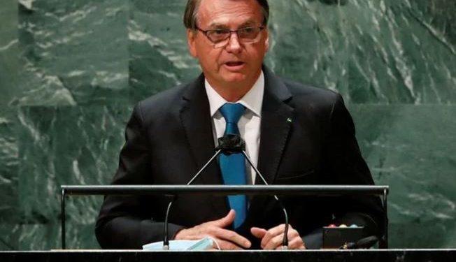 Presidente Jair Bolsonaro em discurso na ONU - Foto: Reprodução/Agência Brasil
