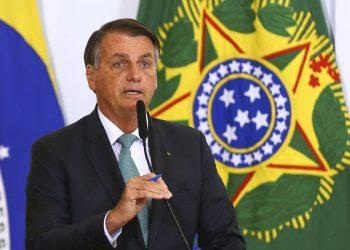 O presidente Bolsonaro cumpre isolamento em Brasília. Foto: Agência Brasil