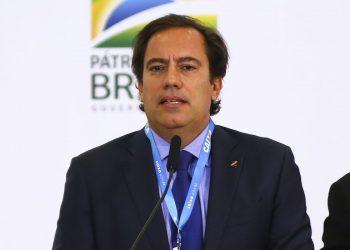 O presidente da Caixa, Pedro Guimarães, informou que está assintomático e que permanecerá trabalhando em casa. Foto: Arquivo