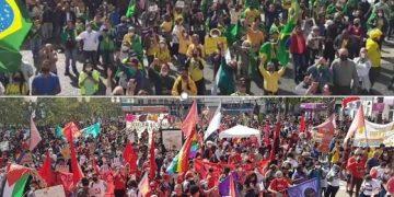 Manifestações pró e contra o governo estão previstas para o mesmo dia no Centro de Campinas. Foto: Hora Campinas