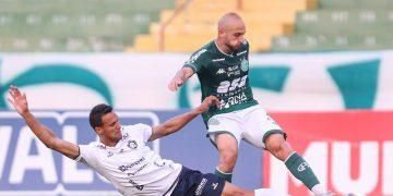 Régis foi peça decisiva na vitória do Guarani sobre o Remo com duas assistências.  Foto: Thomaz Marostegan/GuaraniFC