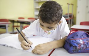 Também é possível fazer a rematrícula pelo aplicativo Minha Escola SP. E presencialmente em qualquer unidade escolar estadual Foto: Divulgação